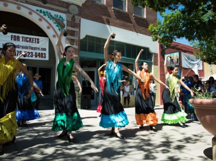 Alma de Arte Charter High School Flamenco Dancers